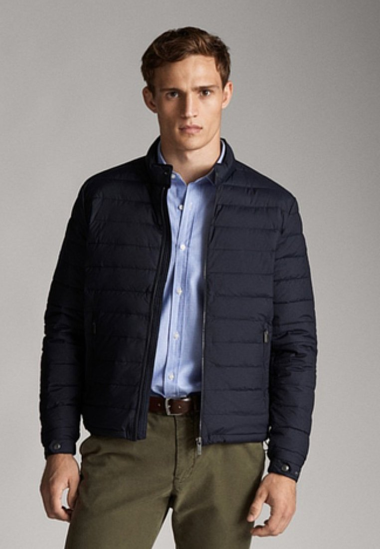 Massimo Dutti - Down jacket - dark blue