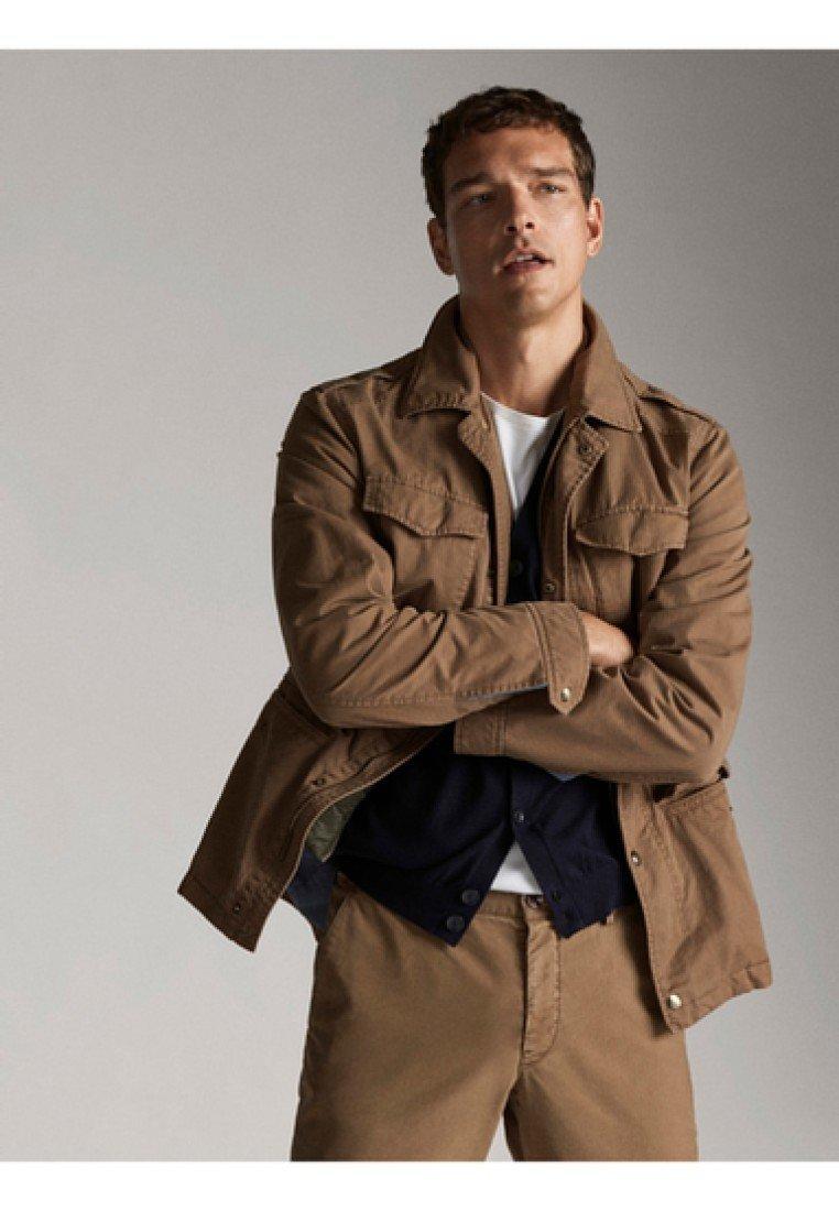 Massimo Dutti - Summer jacket - brown