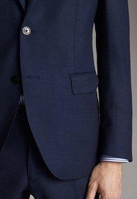 Massimo Dutti - SLIM FIT - Blazer jacket - blue - 6