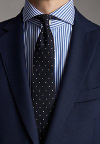 Massimo Dutti - SLIM FIT - Blazer jacket - blue - 5