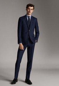 Massimo Dutti - SLIM FIT - Blazer jacket - blue - 1