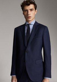 Massimo Dutti - SLIM FIT - Blazer jacket - blue - 3