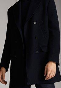 Massimo Dutti - Cappotto corto - blue - 4