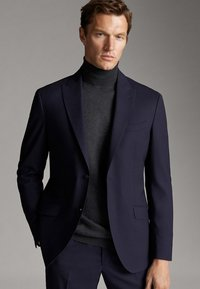 Massimo Dutti - Blazer jacket - blue - 0