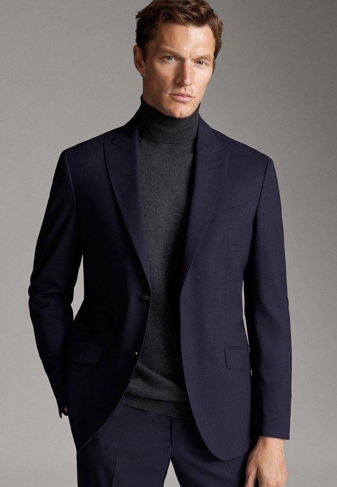 Massimo Dutti - Blazer jacket - blue