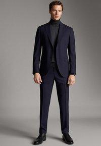 Massimo Dutti - Blazer jacket - blue - 1