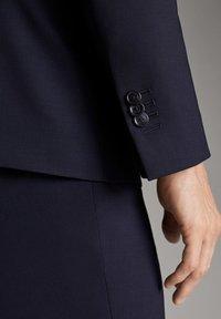 Massimo Dutti - Blazer jacket - blue - 6