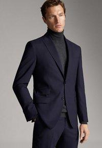 Massimo Dutti - Blazer jacket - blue - 3