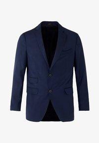 Massimo Dutti - MARINEBLAUER SLIM-FIT-BLAZER AUS WOLLE MIT STRUKTURMUSTER 020043 - Suit jacket - blue - 5