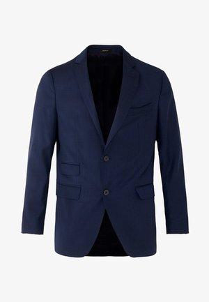 MARINEBLAUER SLIM-FIT-BLAZER AUS WOLLE MIT STRUKTURMUSTER 020043 - Suit jacket - blue
