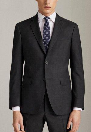 SLIM-FIT-BLAZER AUS REINER WOLLE 02001321 - Veste de costume - dark grey