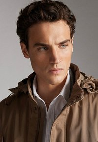 Massimo Dutti - JACKET WITH REMOVABLE GILET 03412222 - Parkas - beige - 5