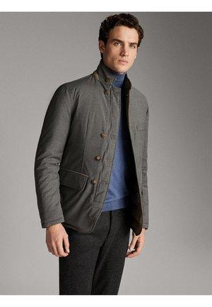 WENDEJACKE IM BLAZERSTIL AUS FUNKTIONSSTOFF UND WOLLE 03403221 - Winter jacket - blue