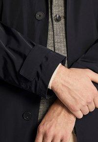 Massimo Dutti - Trenchcoat - blue-black denim - 5