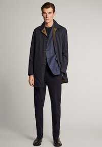 Massimo Dutti - Trenchcoat - blue-black denim - 1