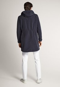 Massimo Dutti - Short coat - blue-black denim - 2