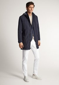 Massimo Dutti - Short coat - blue-black denim - 1