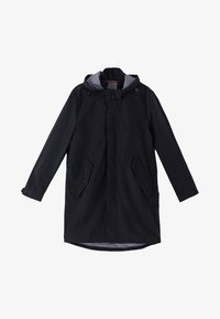 Massimo Dutti - Short coat - blue-black denim - 6