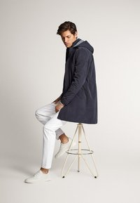 Massimo Dutti - Short coat - blue-black denim - 3