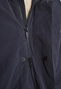 Massimo Dutti - Short coat - blue-black denim - 5