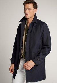 Massimo Dutti - Trenchcoat - blue-black denim - 3