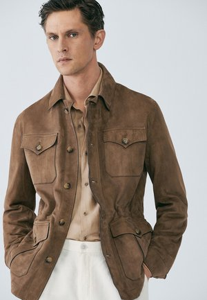 IM SAFARI STIL LIMITED EDITION  - Veste en cuir - brown