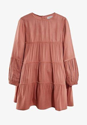 MIT BLUMENPRINT - Day dress - neon pink