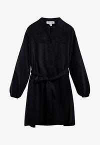 Massimo Dutti - Shirt dress - black - 2