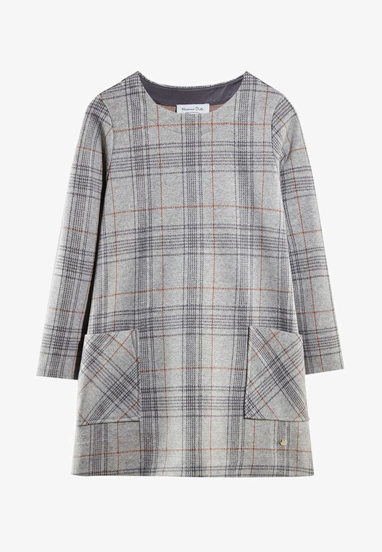 Massimo Dutti - Day dress - grey