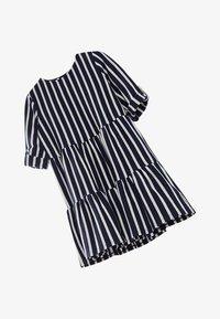 Massimo Dutti - GESTREIFTES KLEID AUS BAUMWOLLE IN MARINEBLAU 06618134 - Day dress - blue-black denim - 2
