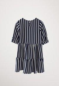 Massimo Dutti - GESTREIFTES KLEID AUS BAUMWOLLE IN MARINEBLAU 06618134 - Day dress - blue-black denim - 3