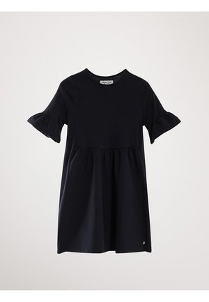 Day dress - blue-black denim