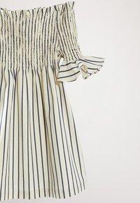 Massimo Dutti - Korte jurk - light blue - 2