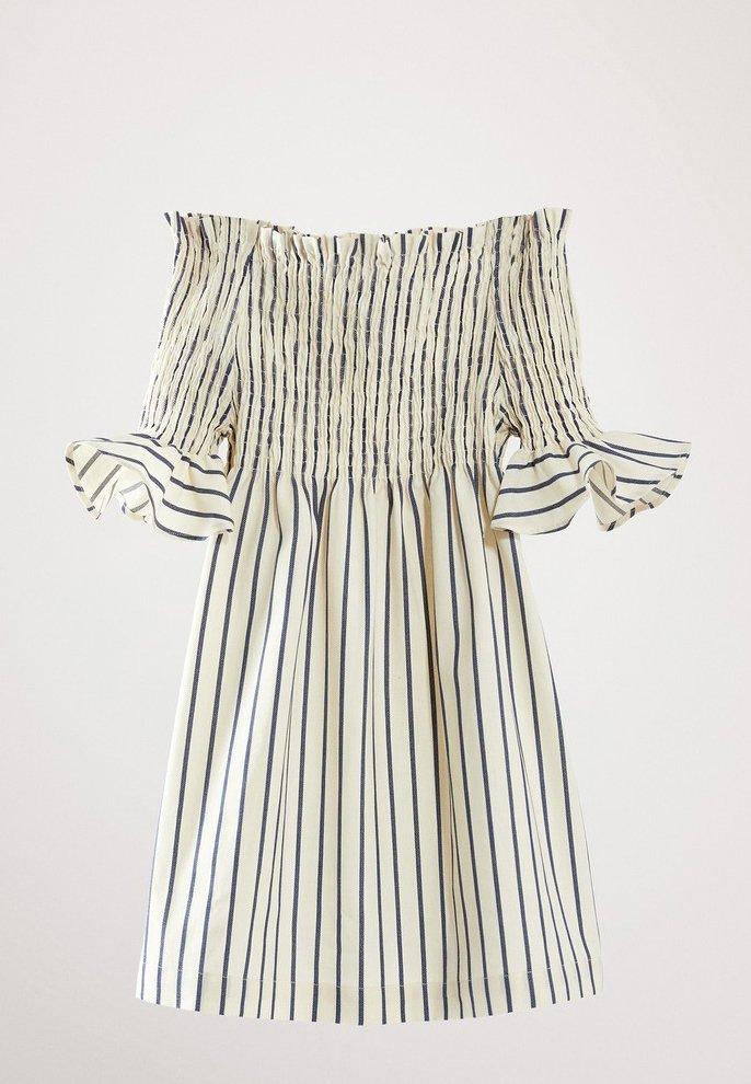 Massimo Dutti - Korte jurk - light blue