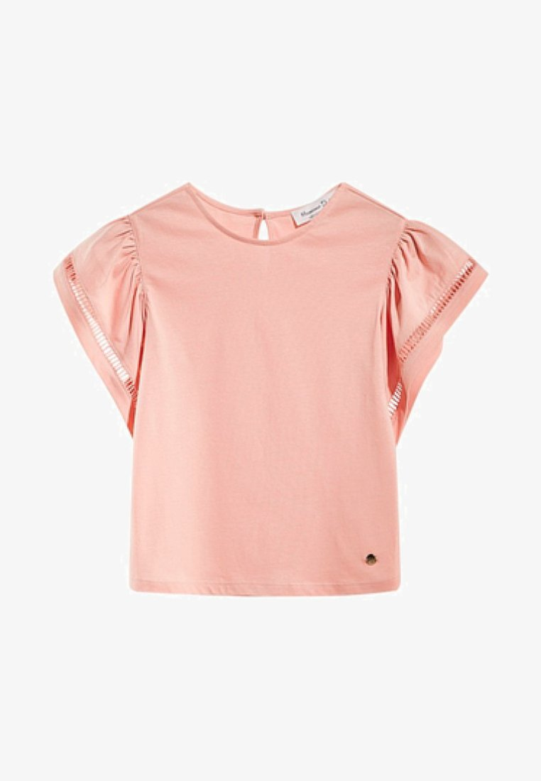 Massimo Dutti - MIT VOLANT  - T-shirts print - neon pink
