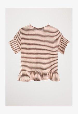LINO - Print T-shirt - red