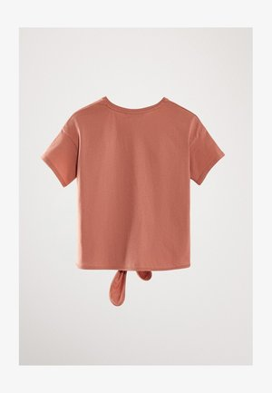 MIT KNOTEN - T-shirt med print - apricot