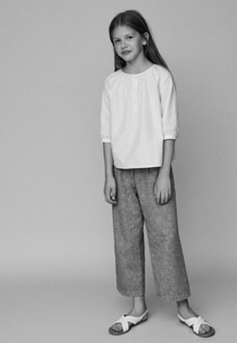 Massimo Dutti - MIT STANZ - Bluser - white