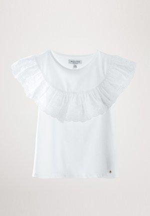 MIT VOLANT - T-shirt print - white