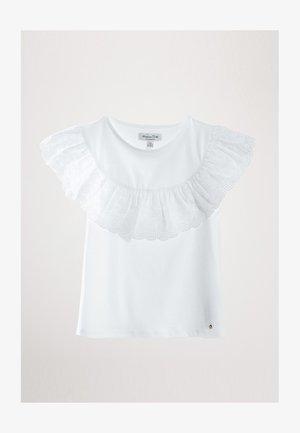 MIT VOLANT - T-shirt med print - white
