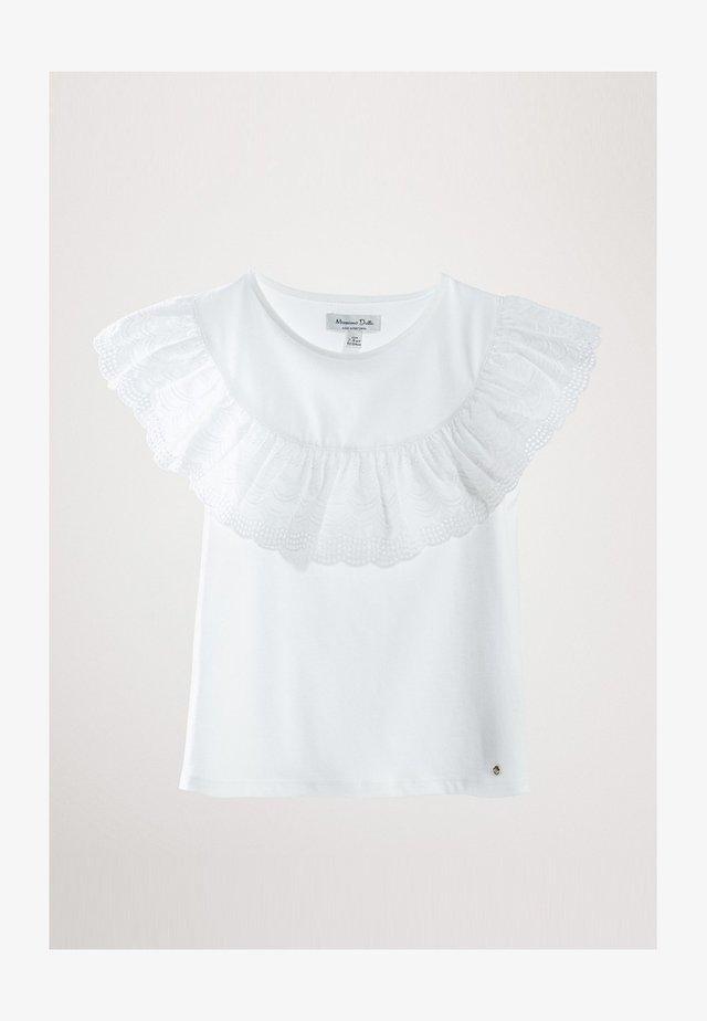 MIT VOLANT - T-shirts print - white