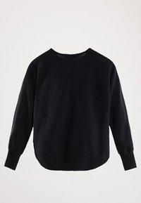 Massimo Dutti - CAPE-PULLOVER AUS BAUMWOLLE UND KASCHMIR 05606007 - Sweter - blue - 1
