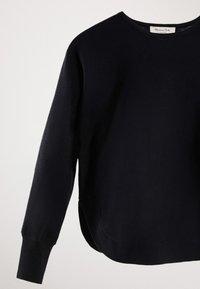 Massimo Dutti - CAPE-PULLOVER AUS BAUMWOLLE UND KASCHMIR 05606007 - Sweter - blue - 4