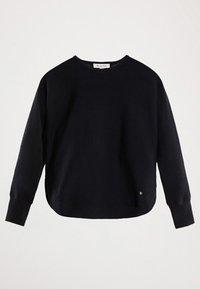 Massimo Dutti - CAPE-PULLOVER AUS BAUMWOLLE UND KASCHMIR 05606007 - Sweter - blue - 2