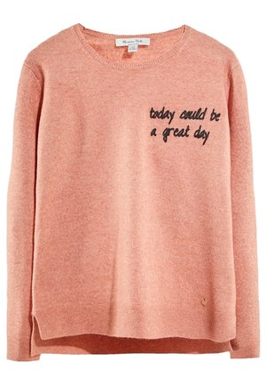 PULLOVER »TODAY COULD BE A GREAT DAY« 05602003 - Pullover - neon pink