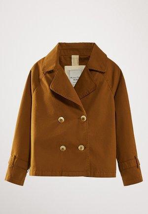MIT KNÖPFEN - Blazer - brown
