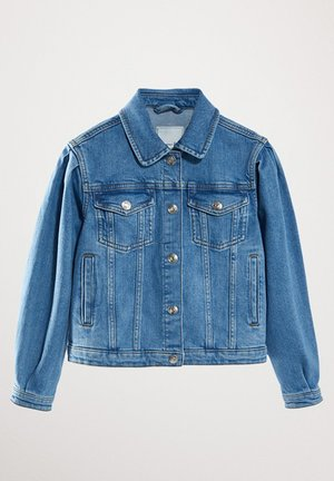 MIT TASCHEN  - Giacca di jeans - blue