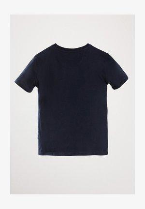 MIT FAHRRAD-MOTIV  - Print T-shirt - blue/black denim