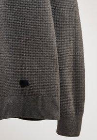 Massimo Dutti - MIT STRUKTURMUSTER  - Pullover - grey - 4