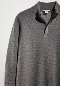 Massimo Dutti - MIT STRUKTURMUSTER  - Pullover - grey - 6